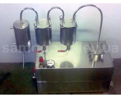 Самогонный аппарат двойной дистилляции