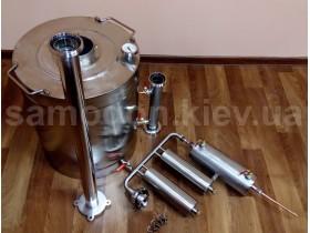 Самогонный аппарат - дистилляционная колонна